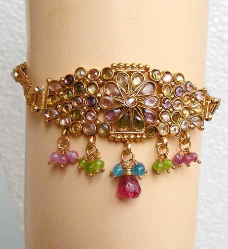 Picture Of Bajuband bazuband jewelry arm bracelet shanila s corner