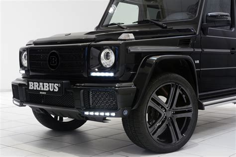 mercedes g500 brabus chisels up the mercedes g500 v8 turbo carscoops