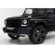 Brabus Chisels Up The Mercedes Benz G500 V8 Turbo