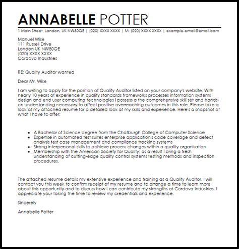 internal communications cover letter