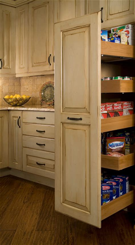 tall pull out kitchen cabinets tall pull out storage traditional kitchen seattle