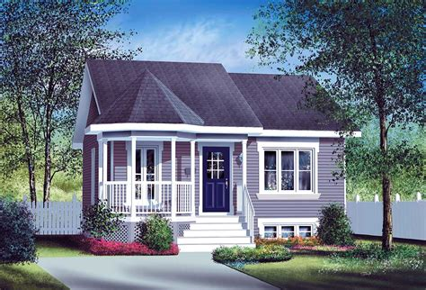 Small Country Home Plan 80004pm 1st Floor Master Suite Country House Plans Bungalow