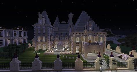 french chateaumansion world  keralis minecraft project