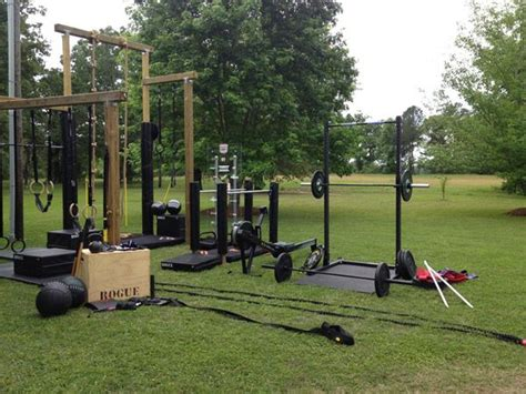 backyard gym equipment 25 best ideas about outdoor gym on pinterest outdoor