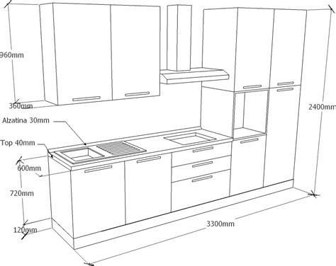 dimensioni mobili cucina mobili da cucina misure standard design casa creativa e