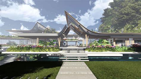 martin architects фотореалистичная визуализация проекта роскошной виллы на