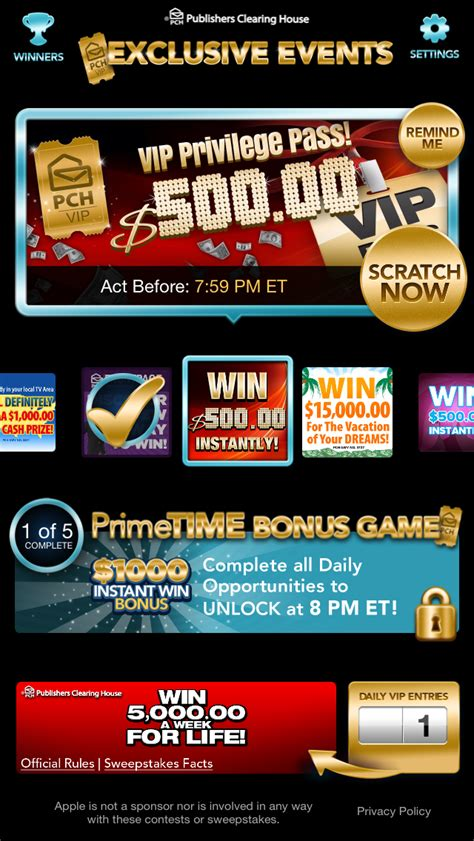 Publishers Clearing House App - new iphone for christmas check out the pch apps pch blog