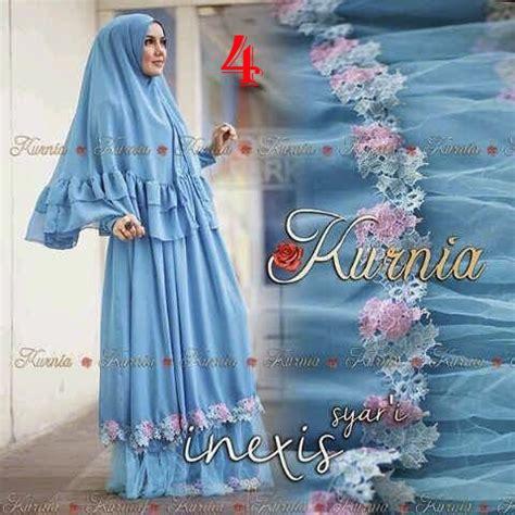 Pusat Grosir Baju Muslim Loria Syari Jersey inexis syari by kurnia 4 baju muslim gamis modern