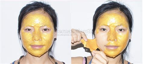 Masker Shiseido Gold Whitening 24k Mask Mask Gold Cair Liqui Murah 24k gold mask active mask powder brightening luxury spa anti aging wrinkle treatment