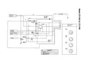 wiring diagram diagram parts list for model 13ap609g063 troybilt parts mower tractor
