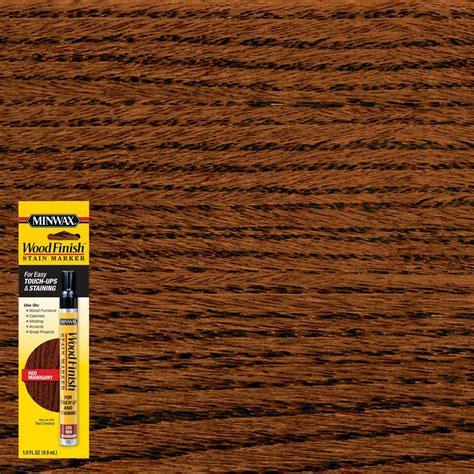 Hardwood Floor Marker by Minwax 1 3 Oz Mahogany Wood Finish Stain Marker 63484