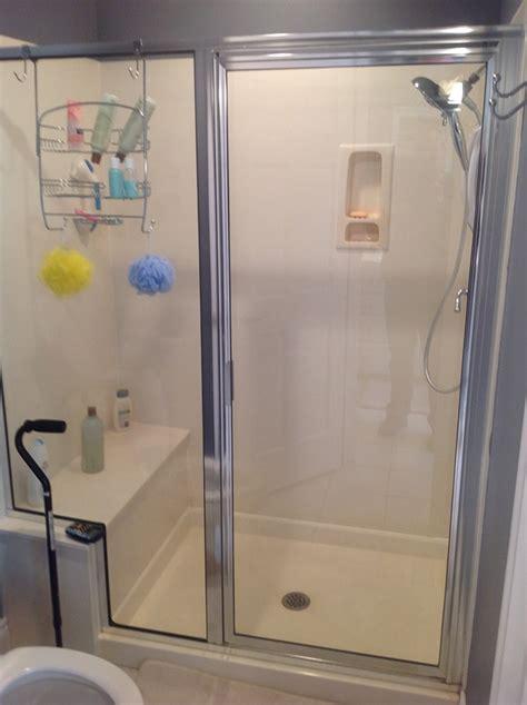 5 Foot Shower Door 5 Foot Shower Door Frameless Sliding Shower Door Hardware Track Kit 5 Ft Brushed Stainless