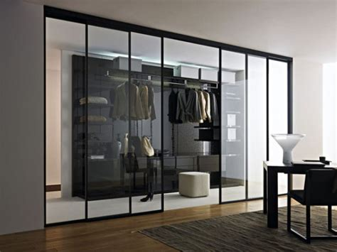 Glass Closet Doors For Bedrooms Doc Mobili S Modern Walk In Closets Digsdigs