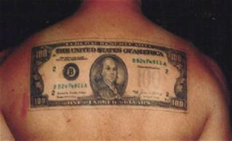 20 dollar tattoos the 100 dollar hundred dollar joke