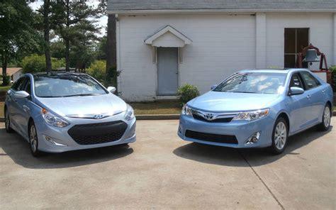 Toyota Corolla Vs Hyundai Sonata Hyundai Sonata Hybrid Vs Toyota Camry Similar