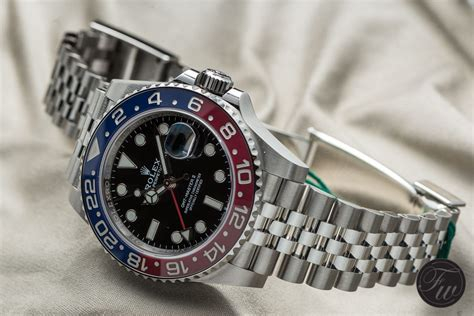 Rolex Gmt Master Ii As on with the rolex gmt master ii reference 126710