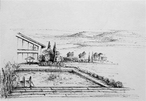 dessin bateau perspective dessiner un paysage en perspective www atelier3113