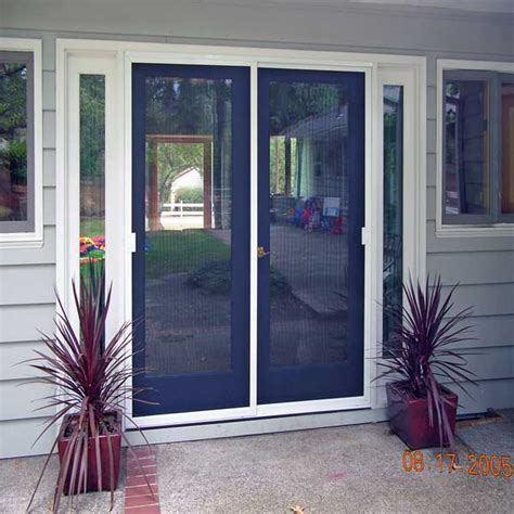 Screen For Patio Door Sliding Patio Door Screens Mobile Screens Etc Inc Residential Commercial Portland Oregon