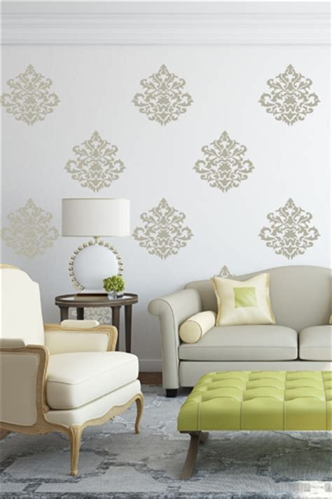 wall tat damask vintage wall decals walltat com