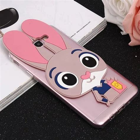 rabbit judy cover for samsung galaxy on7 2016 3d