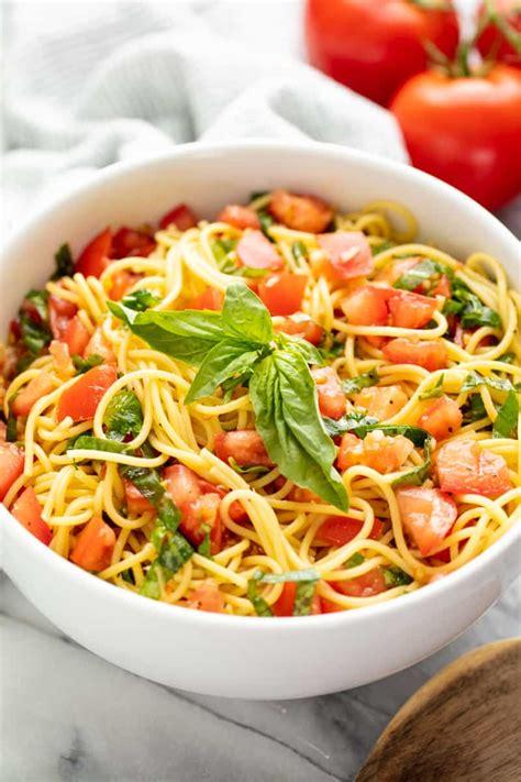 minute italian garden pasta