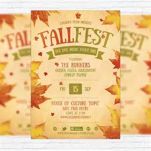 Fall Festival Flyer Templates Free by Fall Festival Flyer Template Printable Flyers In Word