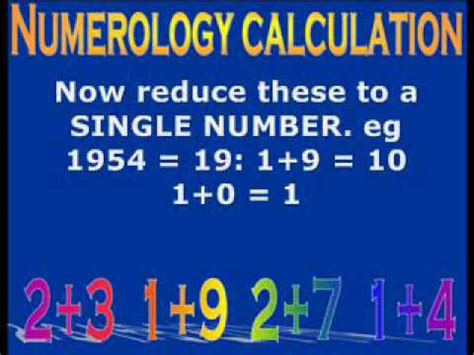How To Calculate Numerology Number Numerology Calculation