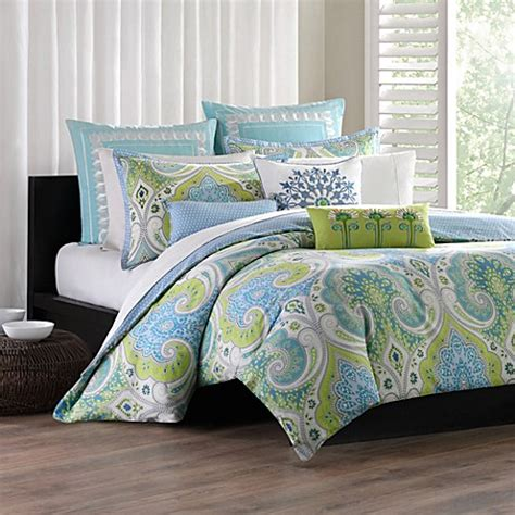 echo design sardinia comforter set 100 cotton bed