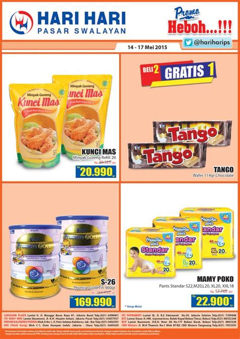 Mamy Poko S22 katalog promo akhir pekan jsm hari hari pasar swalayan 14 mei 17 mei 2015 katalog harga promosi