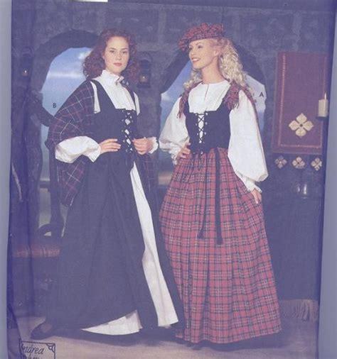 Gamis Zanefa Dress Shawl 010 simplicity costume pattern 8855 andrea schewe celtic dress