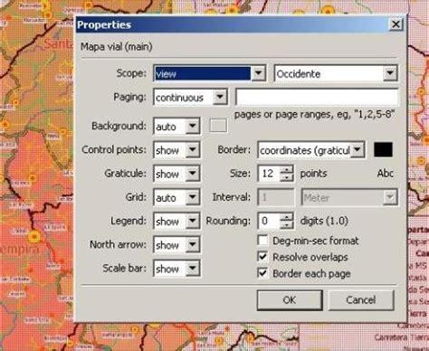 arcgis layout hintergrund manifold gis erstellen von layouts f 252 r den druck manifold