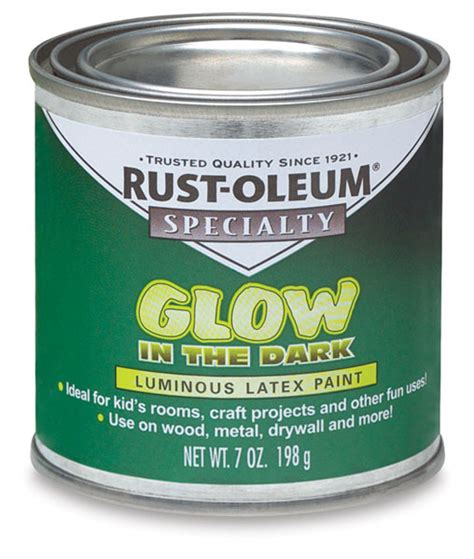 glow in the paint hema rust oleum glow in the brush on paint blick