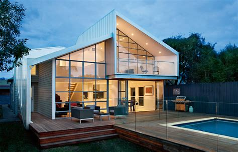 Blurred House By Bild Architecture Melbourne Australian Architectural House Designs Australia