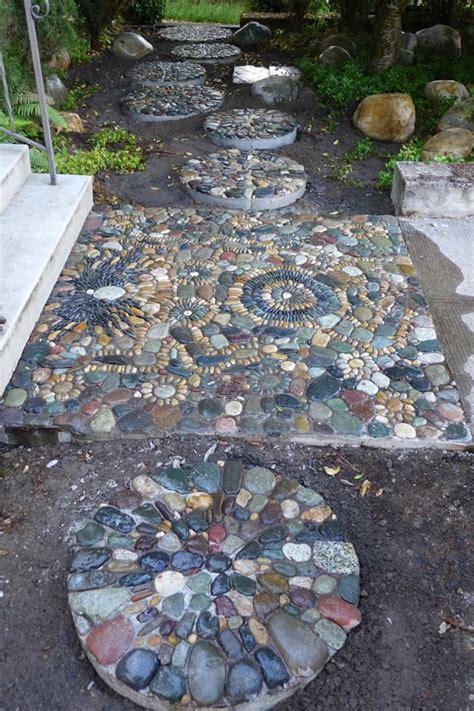 Garden Mosaic Ideas 943 Best Pebble Mosaics Images On Pinterest Pebble Mosaic Garden Paths And Landscaping Ideas