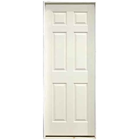 28 X 80 Interior Door 6 panel pre hung interior door 28 quot x 80 quot right rona