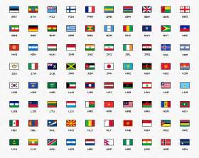 flags of the world graphic legion