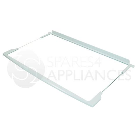 genuine hotpoint indesit fridge refrigerator glass shelf