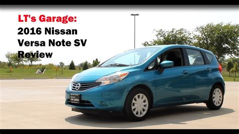 2016 nissan versa review 2016 nissan versa note sv review