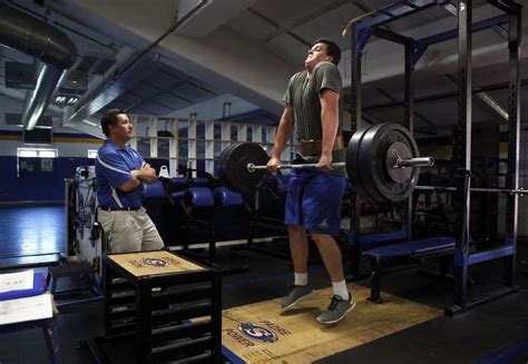 weight room workouts for football players youth football turns to tech to lessen injuries san francisco chronicle