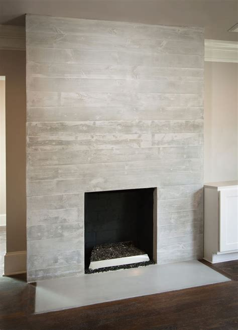custom  concrete fireplace surround mantle fireplace pinterest beige ceiling paint