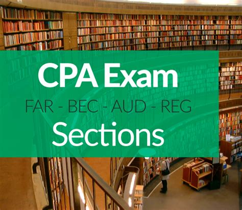 cpa exam 4 sections cpa exam sections ais cpa review courses