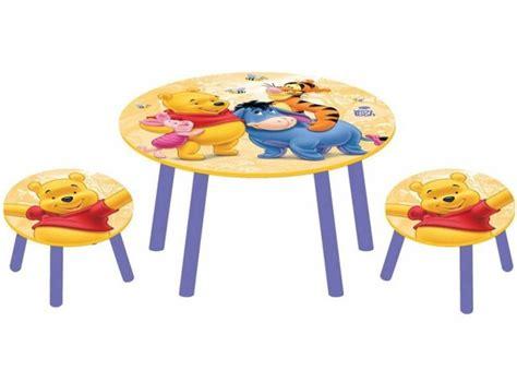 winnie pooh tisch und stuhl disney kinder sitzgruppe winnie pooh kinder tisch stuhl