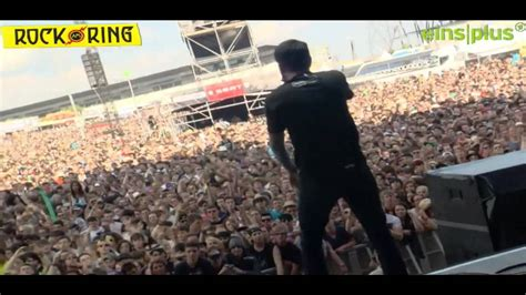 why walk on water when we ve got boats a day to remember live rock am ring 2013 youtube