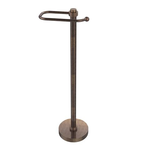free standing toilet paper holder gatco freestanding toilet paper holder in bronze 1436bz