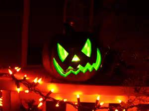 green glow jack o lantern pictures photos and images for