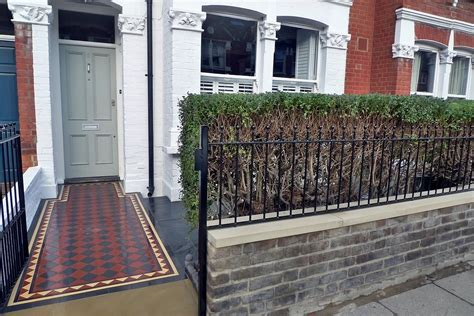 South West London Front Garden Design And Landscaping Front Garden Brick Wall Designs