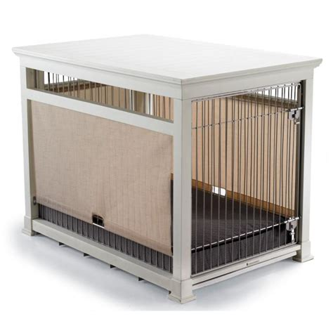 how to make a crate look like furniture luxury white pet residence crate frontgate