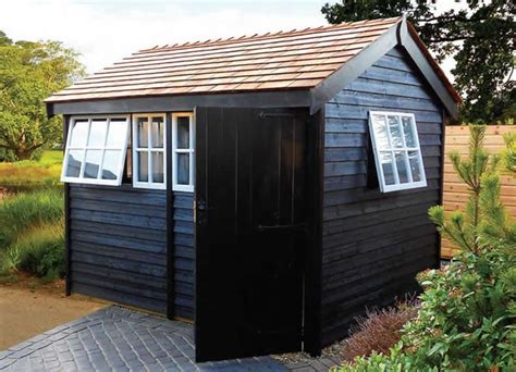 Painted Garden Sheds Uk by The 25 Best Workshop Shed Ideas On Shed