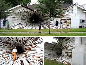 Artist House Art Sci 5 Funny Art Installations