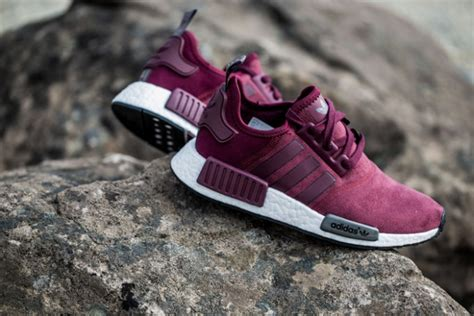 Adidas Nmd Purple Burgundy the s adidas nmd burgundy is looking really impressive kicksonfire